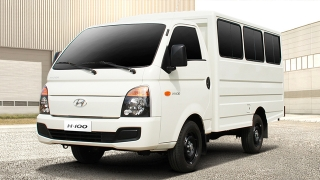 Hyundai H-100 Shuttle Body Closed Van Philippines