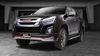 Isuzu D-Max 3.0 VGS X-Series 4x2 MT 2018 black