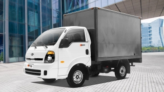 Kia K2500 closed van