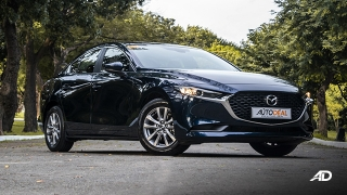 mazda3 elite sedan review road test front quarter exterior philippines