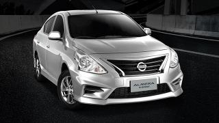 Nissan Almera N-Sport exterior quarter front Philippines