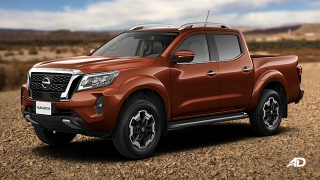 Nissan Navara side quarter