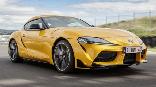 toyota supra philippines lightning yellow