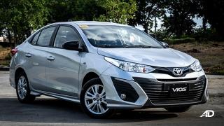 Toyota Vios 1.3 E Prime road test exterior front quarter philippines