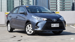 Toyota Vios XLE 1.3 CVT front quarter philippines