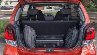 Toyota Wigo 2018 1.0 G AT Philippines Trunk