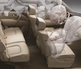 6 SRS Airbags System