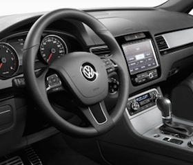 Volkswagen Touareg interior photo.