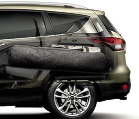 Adaptable rear storage
