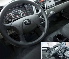 Fuso Canter steering wheel
