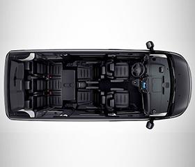 Peugeot Traveller seats