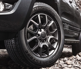 Ford FX4 wheels