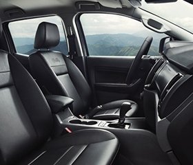 Ford FX4 interior