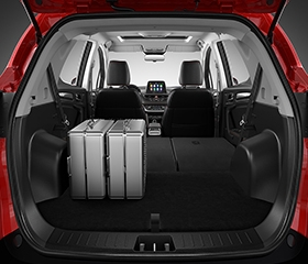JAC s2 cargo space