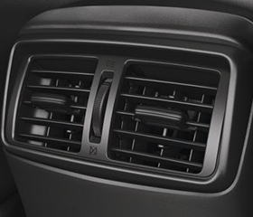 Nissan rear air vents