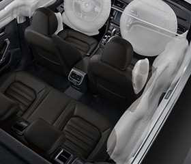 Volkswagen Lamando safety airbags