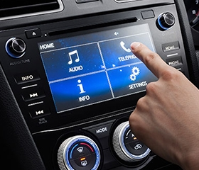 Subaru Levorg Entertainment System