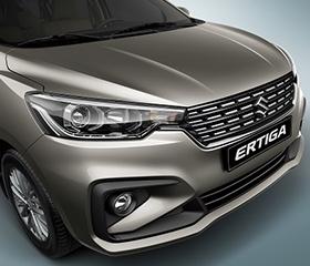 2019 Suzuki Ertiga front fascia