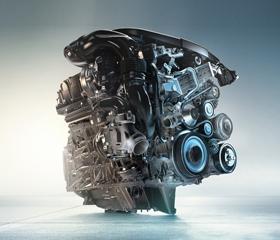 BMW 318d Luxury TwinPower Turbo diesel engine