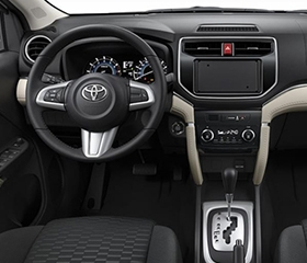 toyota rush interior