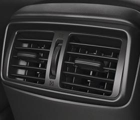 Nissan rear air vents