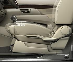 2019 Suzuki Ertiga seat height adjuster