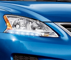 Xenon Headlamps with LED Accents