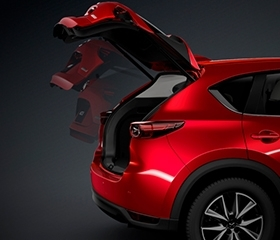 CX5 boot space