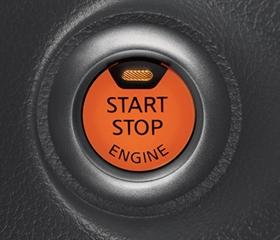 Nissan push start button feature