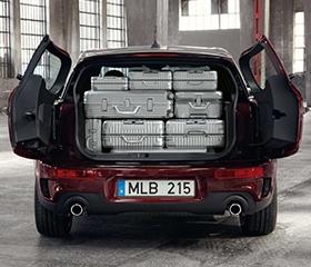 Split-Opening Rear Cargo