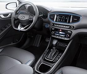 2019 Hyundai Ioniq interior