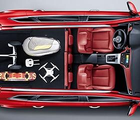 MG RX5 Fold-Flat Seats