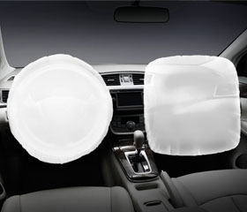 Dual SRS airbags