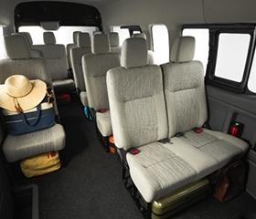 Nissan Urvan interior