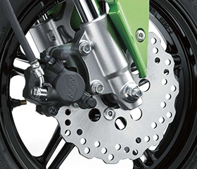 2019 Kawasaki Z150 Disc Brakes