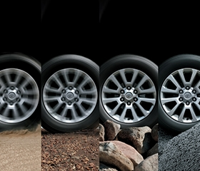 Prado wheels