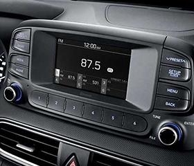 Hyundai Kona entertainment