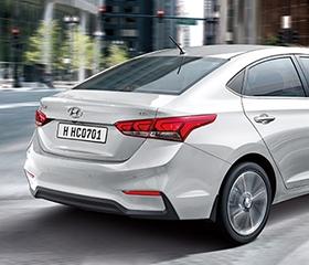 2019 Hyundai Accent Tail Lights