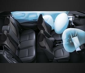 Toyota Corolla Altis interior airbag