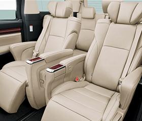 Alphard seats