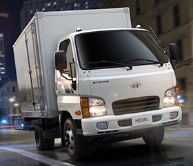 Hyundai HD36 exterior front Philippines