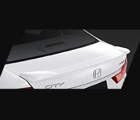 2019 Honda City exterior rear spoiler