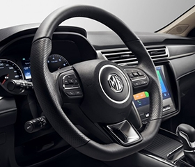2019 MG 5 interior steering wheel controls
