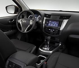 Nissan terra interior