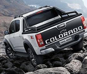 Chevrolet Colorado exterior rear Philippines