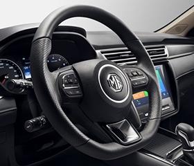2019 MG 5 interior steering wheel controls