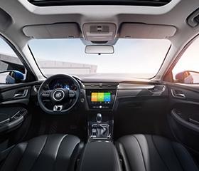 2019 MG 5 interior dashboard