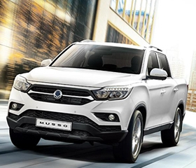 Ssangyong Musso Front