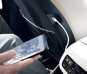 Rear USB Charger