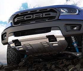 Ford Ranger Raptor front fascia